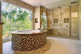 stone texture iridescent tile backsplash oceanside glass tile