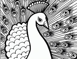 peacock coloring pages coloring pages kids seafoam