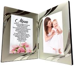 amazon com mom gift sweet sentimental mother poem 4 x 6 silver