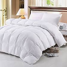 Hungarian Goose Down Duvet All Season Amazon Com Zoom Luan Goose Down And Feather Comforter Queen Size
