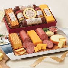 sausage and cheese gift baskets best 25 cheese gift baskets ideas on christmas