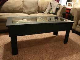 Square Black Coffee Table Square Shadow Box Coffee Table With Additional Facilities And