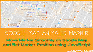Google Map New York How To Move Marker Smoothly On Google Map Using Javascript