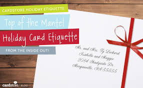 card etiquette how to address the envelope how to write