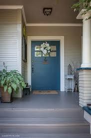 popular colors to paint an entry door indigo front doors and