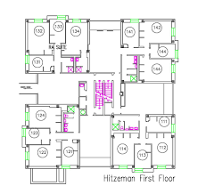 Floor Palns by Hitzeman Hurd And Myers Floor Plans Washington University In