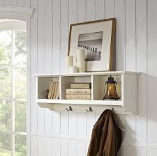 amazon com crosley furniture brennan entryway hanging storage