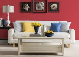 Red Livingroom by Poinsettia Red Living Room Living Room Colours Rooms By Colour