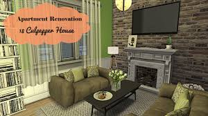 the sims 4 apartment renovation 18 culpepper house part 1
