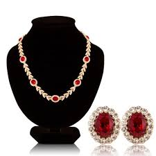 swarovski crystal stone necklace images Cheap jewelry ruby stone find jewelry ruby stone deals on line at jpg