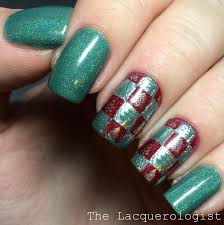 wrapping paper nails inspired by copy cat nails u2022 casual contrast