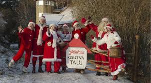 family days in santa claus s korstna farm estonia