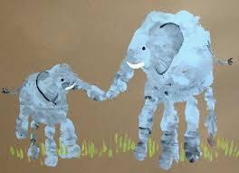 and baby prints craft kid activities