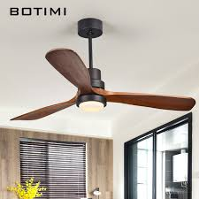 Ceiling Fans For Living Rooms Botimi New Led Ceiling Fan For Living Room 220v Wooden Ceiling