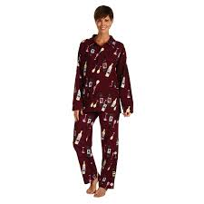 s wine bottle print flannel pjs flannels coupon codes and