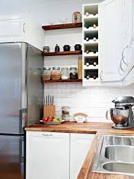Kitchen Wall Storage Ideas Kitchen Cozy Kitchen Wall Shelving Ideas White Wall Paint Color