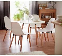 Dining Room Chairs Set Of 4 Exquisite Buy Home Berlin Dining Table 4 Chairs White At