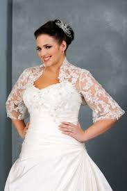 wedding dresses with sleeves for plus size wedding ideas