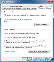 connexion bureau à distance windows 8 prendre le contrôle d un ordinateur via le bureau à distance