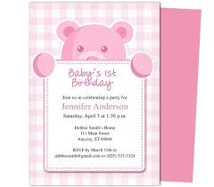 1st birthday invitations templates with photo images invitation