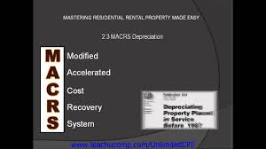 Macrs Depreciation Tables by Cpe For Cpas And Eas 2013 Residential Rental Property Macrs