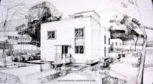 House Drawings by Single Family House Archidrawing