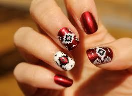 native american inspired nail art polish procrastination