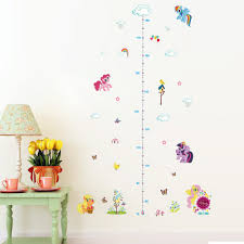 Kids Room Decals by Aliexpress Com Buy Popular Cartoon Horse Height Measure Home