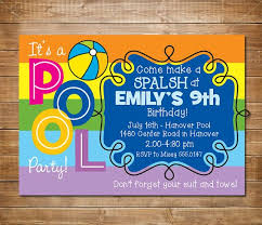 the 25 best swim party invitations ideas on pinterest pool