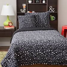 Cheetah Print Bedroom Set by Home Cozy Fleece Sheets