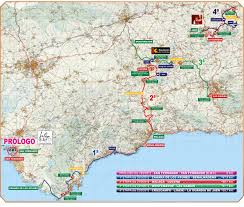 Dia Map 2012 Vuelta A Andalucía Live Video Route Teams Results Photos