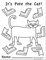 luxury pete cat coloring 14 coloring kids