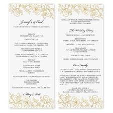 wedding bulletin wedding bulletin templates tolg jcmanagement co