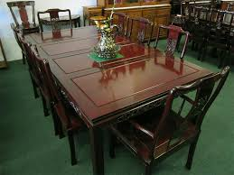 solid rosewood furniture dining table set chinese style