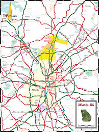 Atlanta Zip Code Map Map Of Atlanta Ga Judgmental Maps Atlanta Ga By An Honest