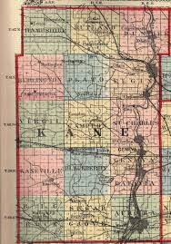 Elgin Illinois Map by Kane County Illinois Maps And Gazetteers