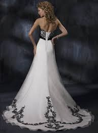 black and white wedding dress black and white bridesmaid dresses wedding dress black and