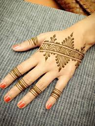 stripey simple mehndi designs for fingers aaa henna tats