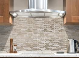 Kitchen Backsplash Stick On Stick On Glass Tile Backsplash Great Home Decor Quality Peel