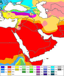 Map Of The Middle East by Will Climate Change Make The Middle East Uninhabitable Informed