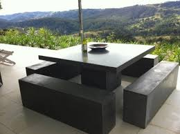 impressive outdoor dining set with bench outdoor dining furniture