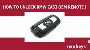 how to unlock bmw cas3 remote keys pcf7945 u0026 pcf7952 youtube