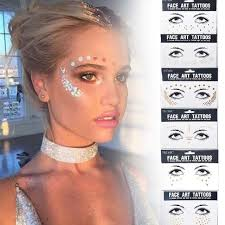 tattoo makeup freckles sexy face rhinestones tattoo sticker body art stickers personality
