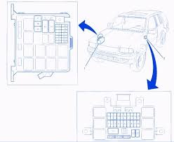 isuzu rodeo ls 2000 engine fuse box block circuit breaker diagram