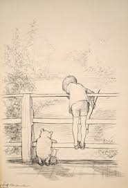 original sketch of winnie the pooh set to sell for more than