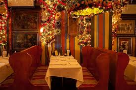 rolfs restaurant this nyc restaurant puts up 60 000 worth of christmas ornaments
