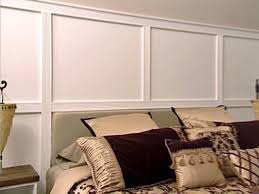 Wall Paneling With Fluted Molding HGTV - Moulding designs for walls