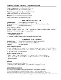 Qa Automation Engineer Resume Electrical Engineer Duties And Responsibilities Cv Electrical Qa