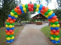 balloon arches outdoor balloon arch
