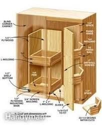 Kitchen Cabinet Corner Solutions Pull Out Corner Base Cabinet Great Idea For The Corner